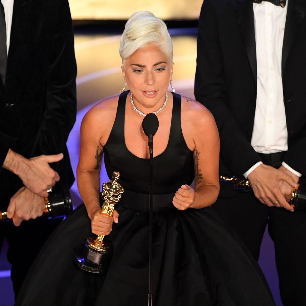 Click on image to watch Lady Gaga's speech.