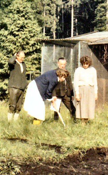 erster Spatenstich am 11. Juni 1984