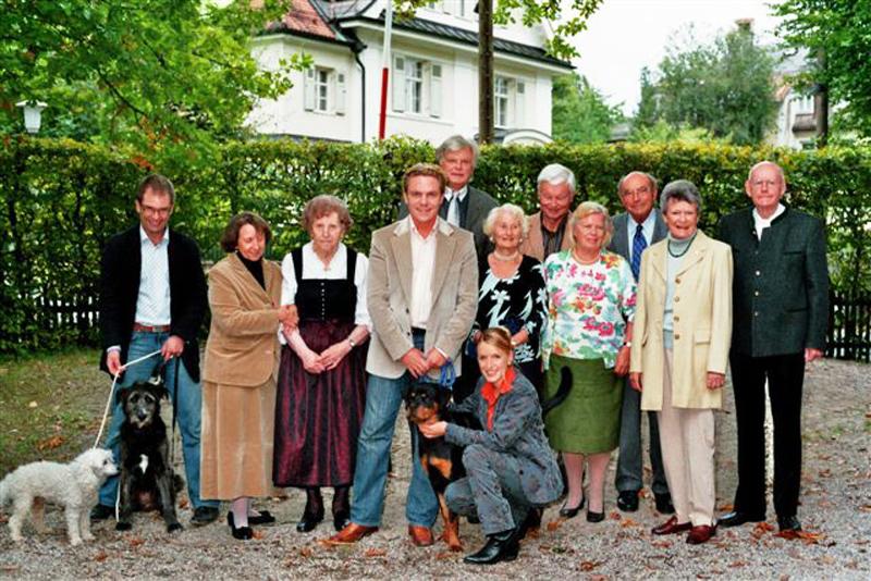 Ehrung langjähriger Mitglieder mit Stefanie Hertel und Stefan Mross