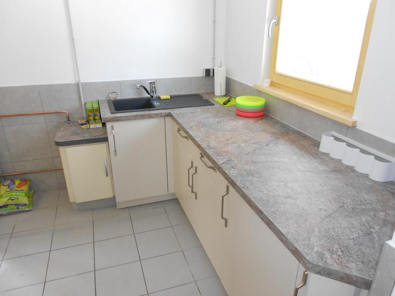neue Küche im Nagerhaus