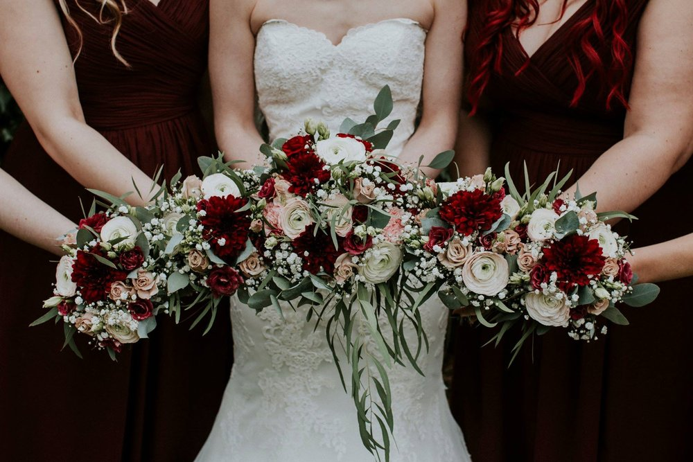 Gemma and Alex - Burgundy and Blush Pink Wedding