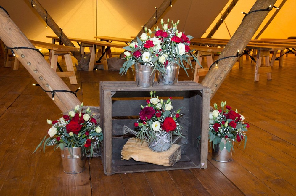 Burgundy and White Wedding Flower Arrangements.jpg
