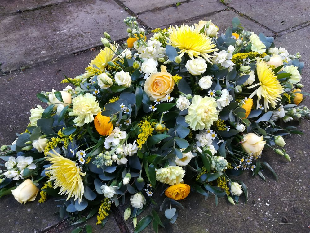 Yellow and White Coffin Spray.jpg