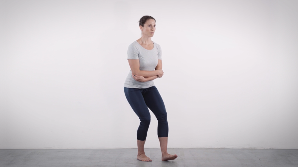 'Easy' single leg squat
