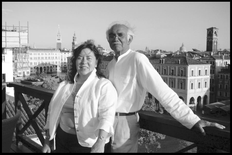 Janet and Natvar Bhavsar