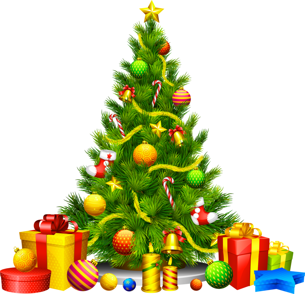 Large_Transparent_Christmas_Tree_with_Presents_Clipart.png