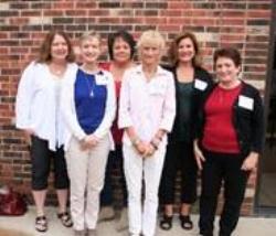 Jennifer O'Connor, Karen Hughes, Sherri Schulte, Sue Engsberg, Tina Butler and Donna Valleroy