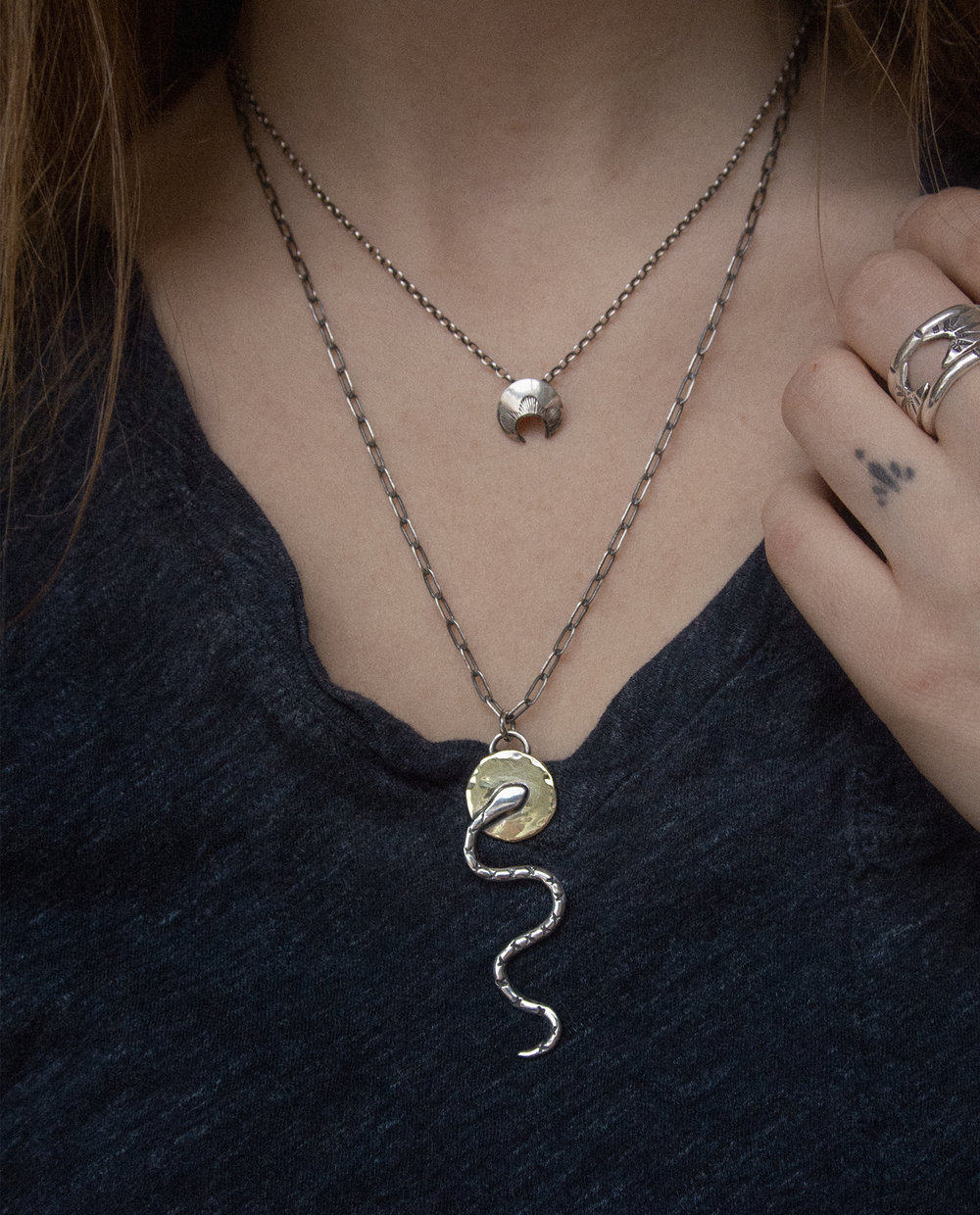 Serpent Bearer Necklace