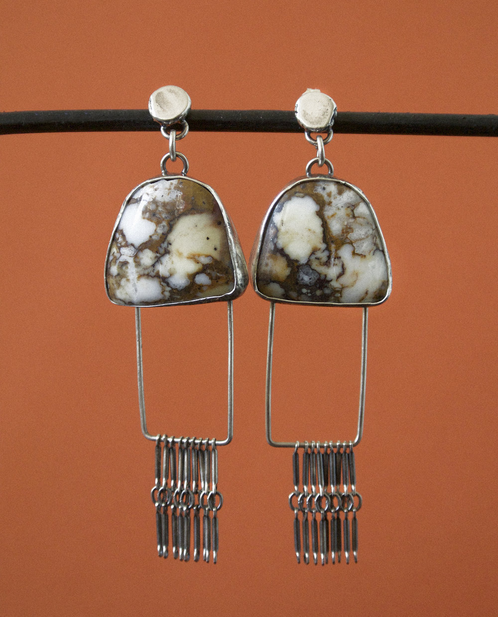 Wild Horse Ladder Earrings