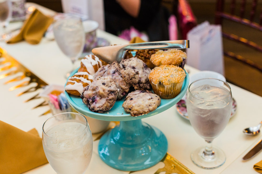 Pittsburgh Wedding Planner - Royal Wedding Watch Party - Tiered Pastry Display
