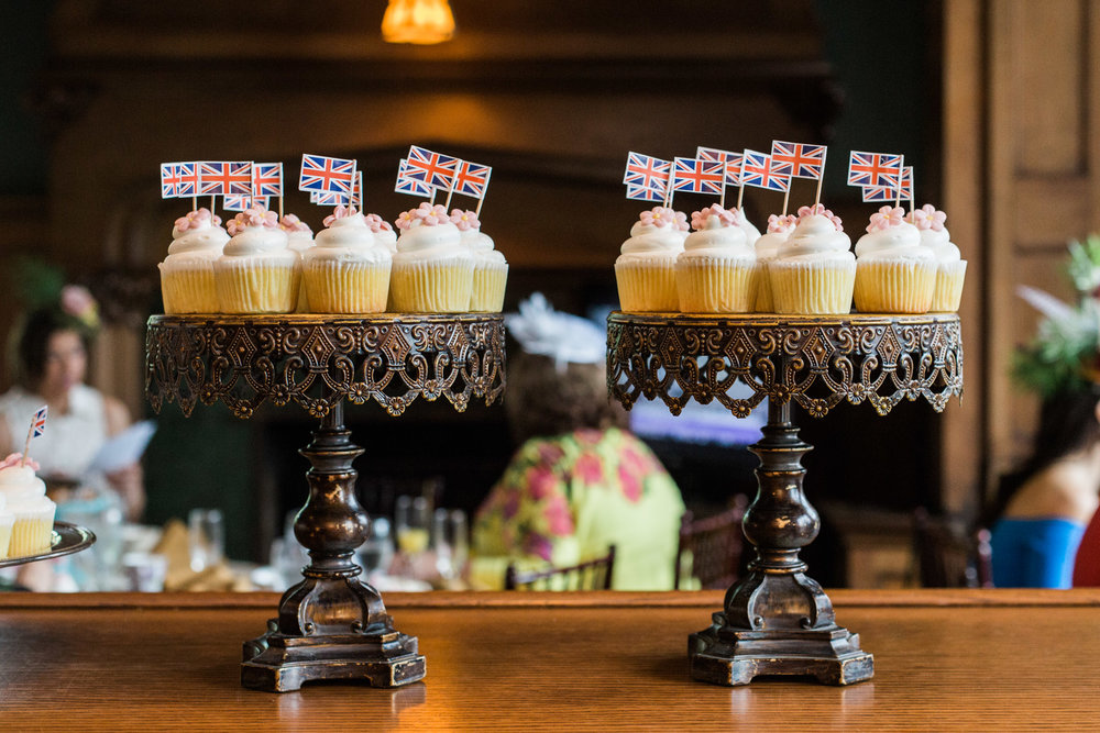 Pittsburgh Wedding Planner - Royal Wedding Watch Party - lemon elderflower cupcakes by Priory Fine Pastries