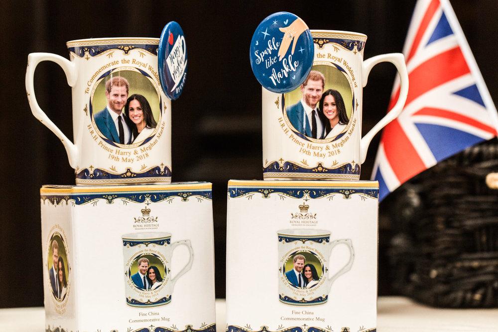 Pittsburgh Wedding Planner - Royal Wedding Watch Party - Royal Wedding Harry Meghan Commemorative Mugs