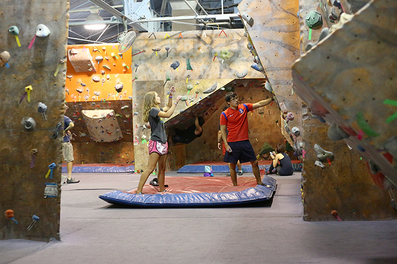 Pittsburgh Fun Creative Unique Date Ideas  Rock Climbing Wall Indoor Bouldering.jpg