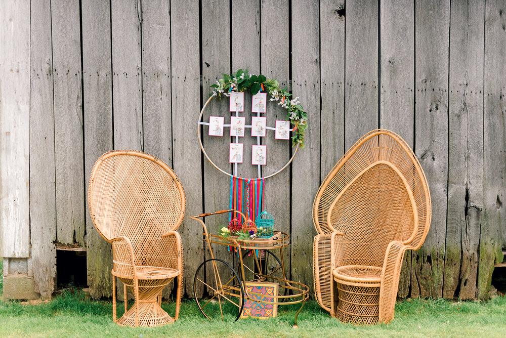 Fun & Colorful Barn Wedding Lounge at Heaven Sent Farms in Avella Dawn Derbyshire Photography (14).jpg