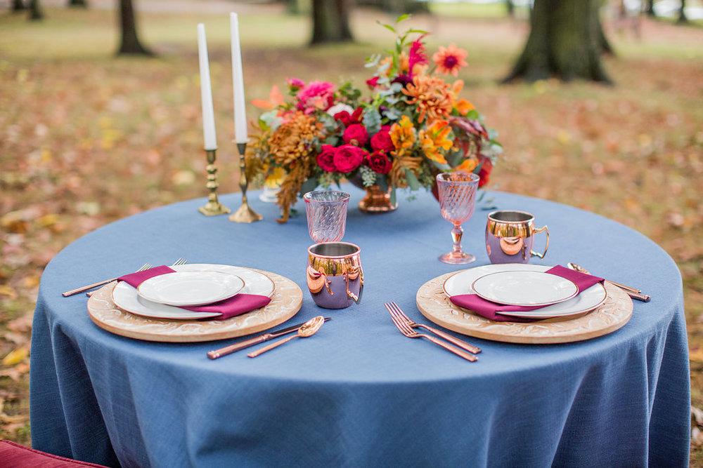 Merlot + Navy Fall Wedding Inspiration at Schenley Park - Leight Up Life Photography (129).jpg