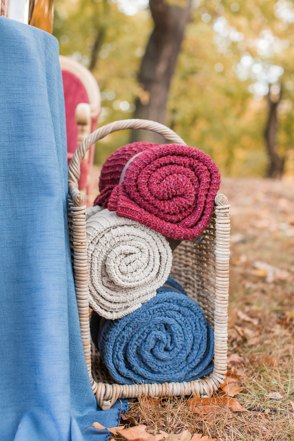 Merlot + Navy Fall Wedding Inspiration at Schenley Park with Blankets - Leight Up Life Photography (206).jpg