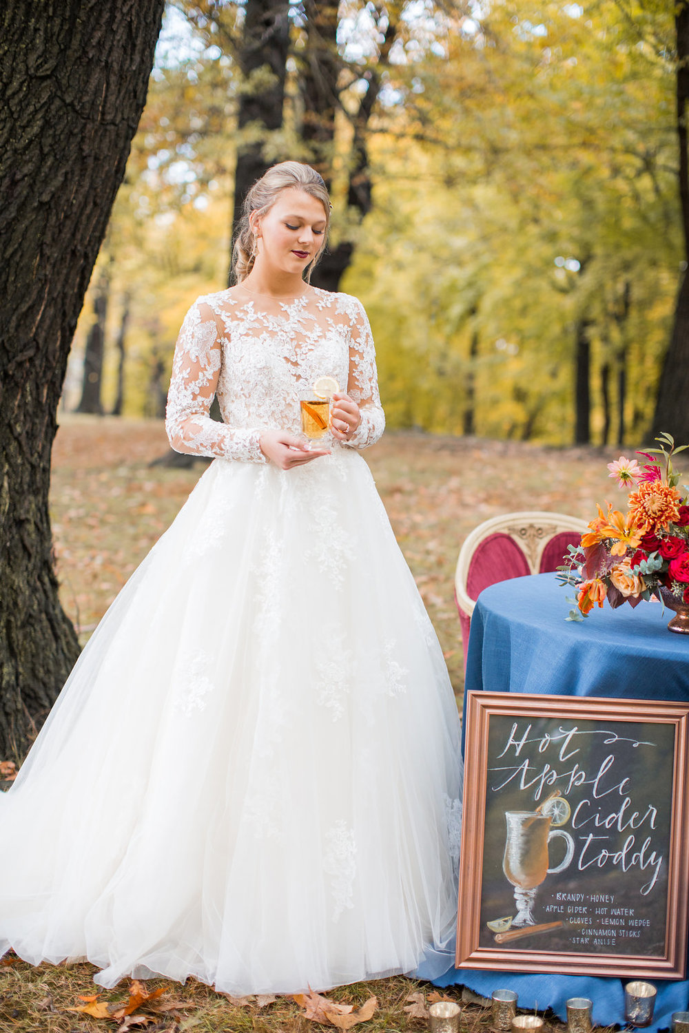 Merlot + Navy Fall Wedding Inspiration with Specialty Drink Hot Toddy - Leight Up Life Photography (207).jpg