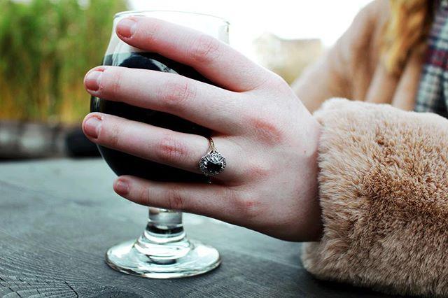 So, this happened last weekend! We're engaged! 💍