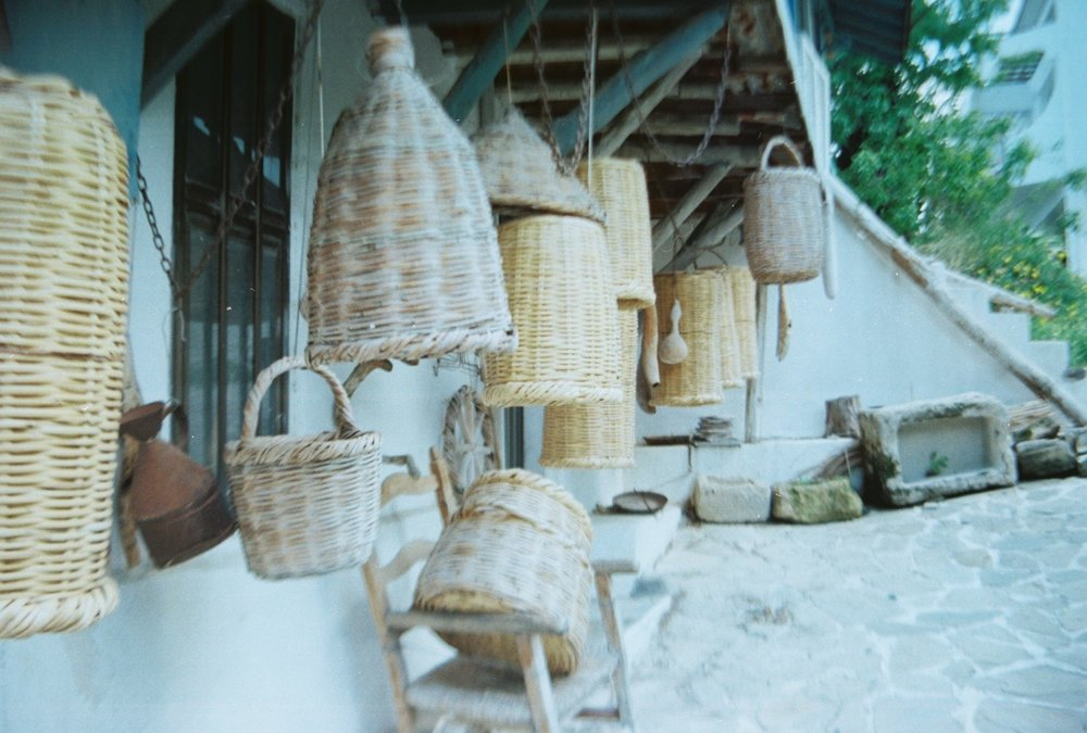 Baskets | The island of copper & cypress trees // Cyprus | Travel by The Foraged Life