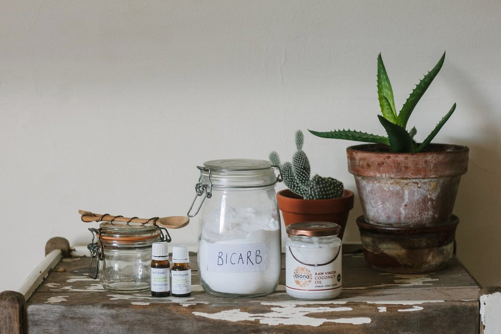 Ingredients for Making Zero Waste Toothpaste | Eco-Friendly Living by The Foraged Life