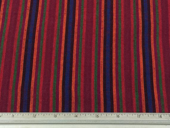 guatemalan-fabric-handwoven-100-cotton-wineblueredorangegreen-stripes-handmade-in-guatemala-guatemalan-fabric-by-the-half-yard-57db60fb4.jpg