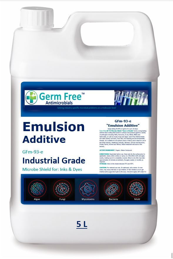 GFm-93e   Emulsion  Alcohol Based Additive For Inks - Dyes & Medical Products