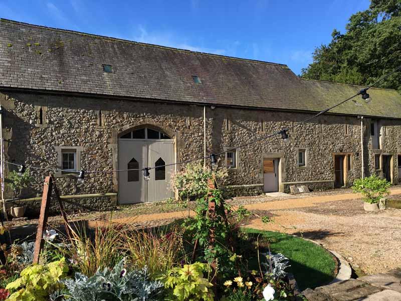 Rustic Wedding Barn Summer Sky
