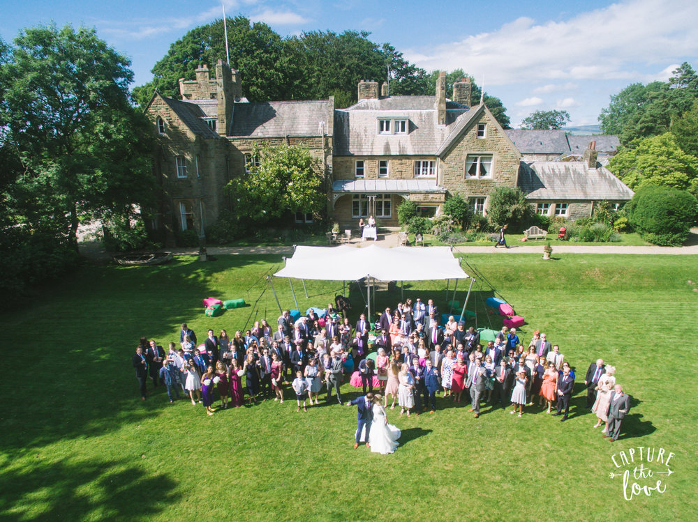 Country House Wedding Lawn