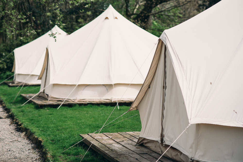 Luxury Bell Tents in Bowland