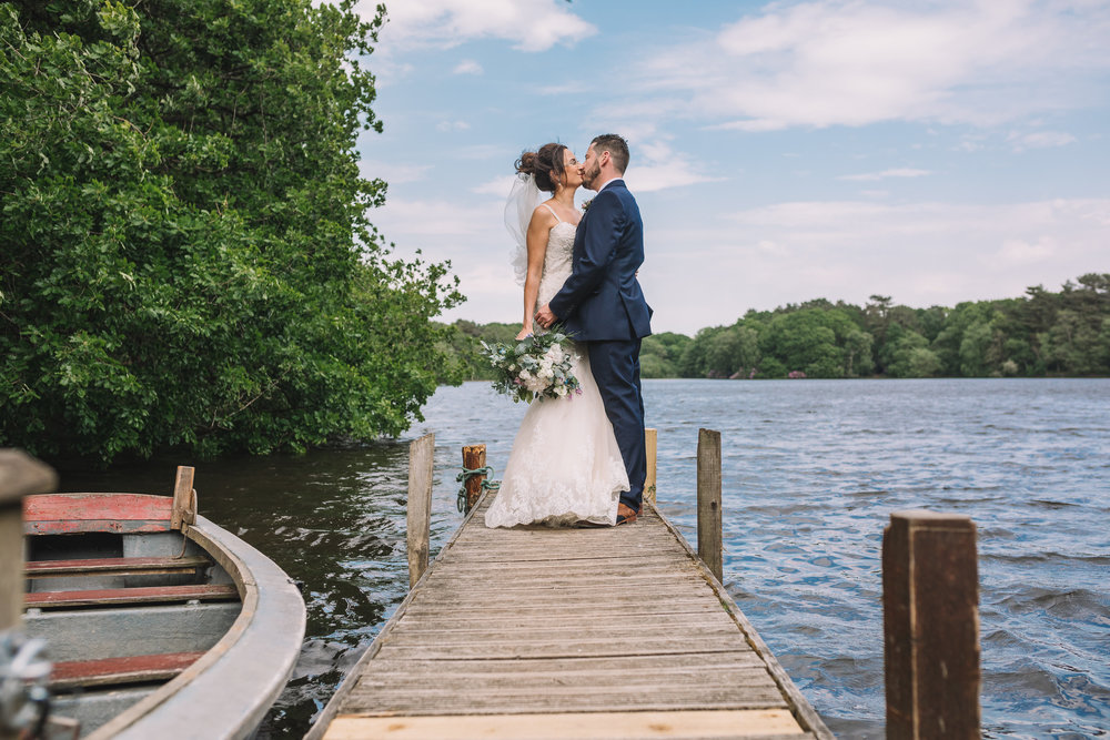 Kissing by the Lake