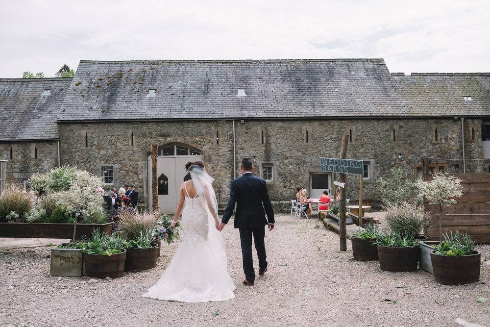 Large wedding barn