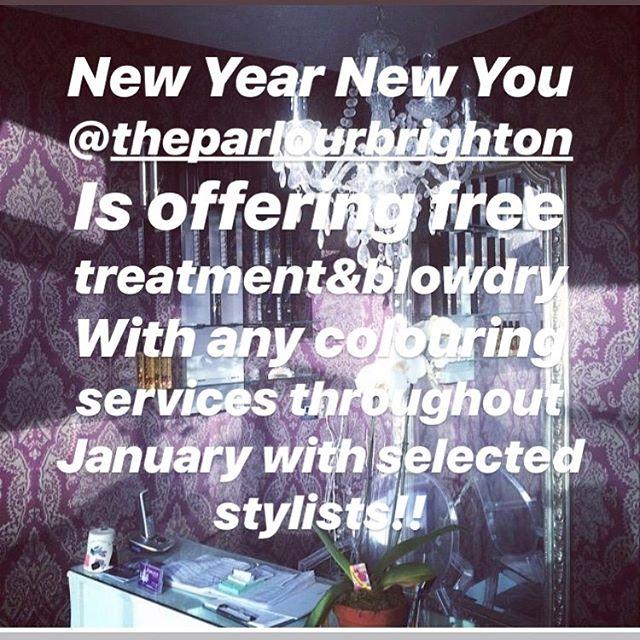 @theparlourbrighton#January promotion#bondultim8matrix#matrixcolor#synccolorbymatrix#socolorcult#socolormatrix