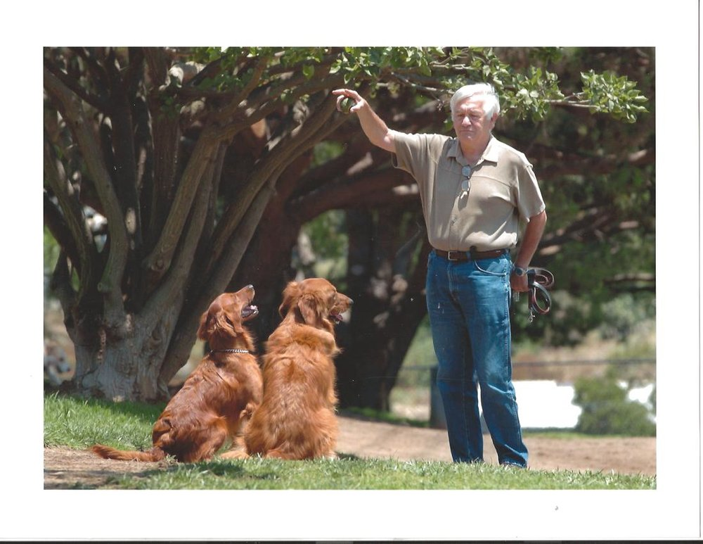 When Dr. louis   Ignarro, winner of The Nobel Prize for medicine in 1998 contacted me to train his two beloved Golden Retrievers he wanted only the best!! He got It.