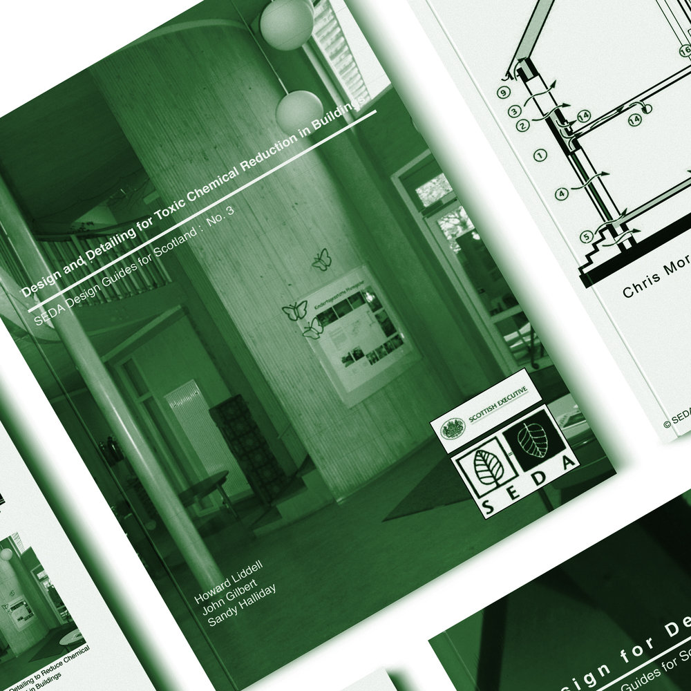 DESIGN & DETAILING FOR - TOXIC CHEMICAL REDUCTION IN BUILDINGS