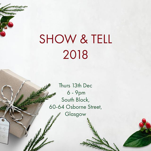 We know we know, it's only November!  But it's nearly that time of year again. A chance to come and share and see what the SEDA members have been up to. Change of venue this year, a chance for the Glaswegians to host.  Sign up! Put it in the diary! And don't forget to send your presentations in by the 11th Dec.  For more info and tickets visit www.seda.uk.net/events/show-and-tell-2018  #greenchristmas #endoftheyear #whathaveyoubeenupto