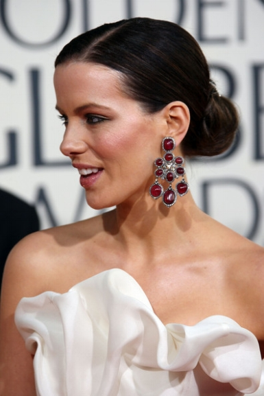 Kate Beckinsale at the 2009 Golden Globes
