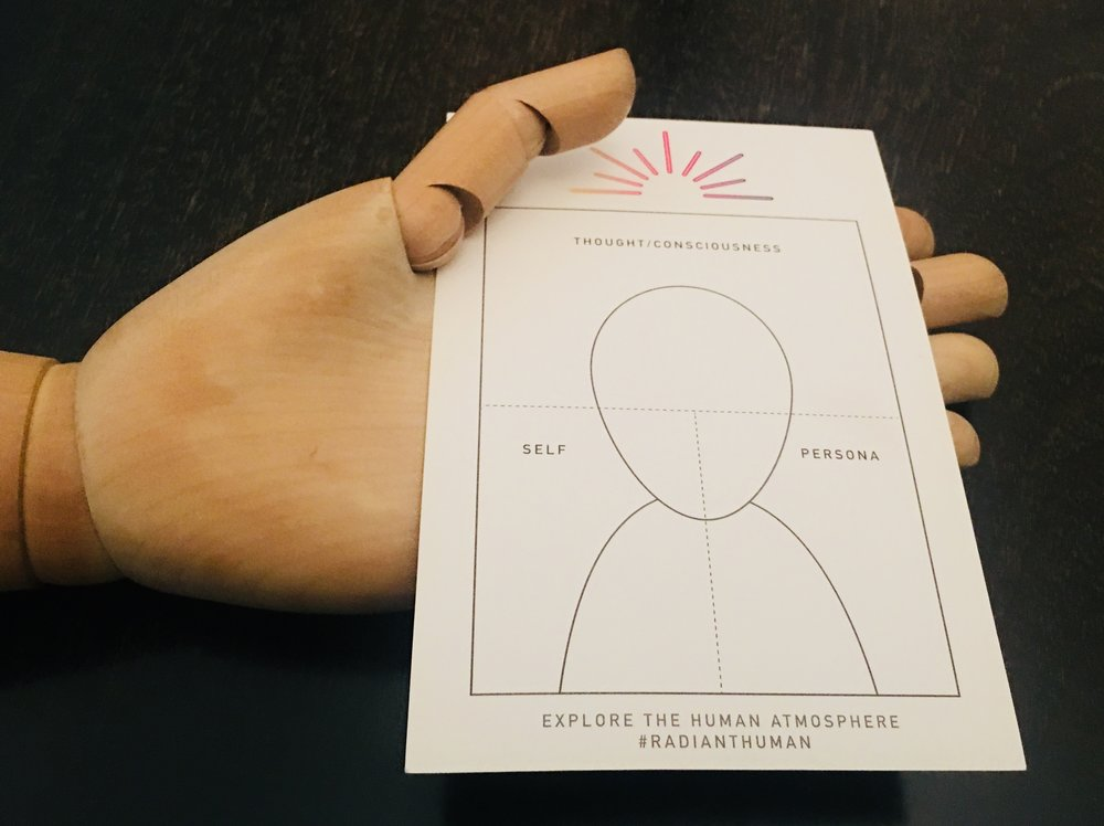 A reading with  Radiant Human  includes this explanatory card.