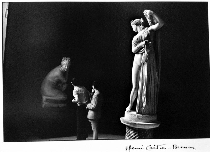 Henri Cartier-Bresson - Museum, Naples, 1963