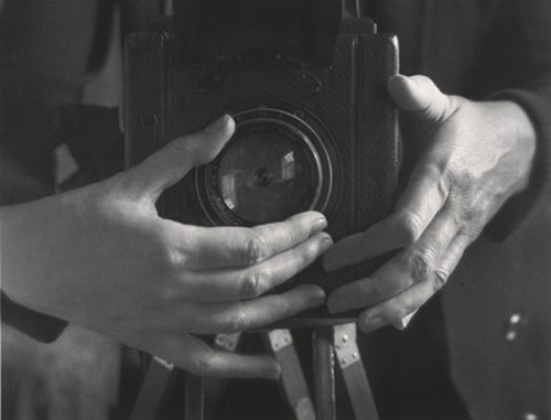 ALMA LAVENSON, Self Portrait (hands), 1932