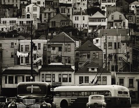 Army Street, San Francisco, 1947 (Max Yavno)