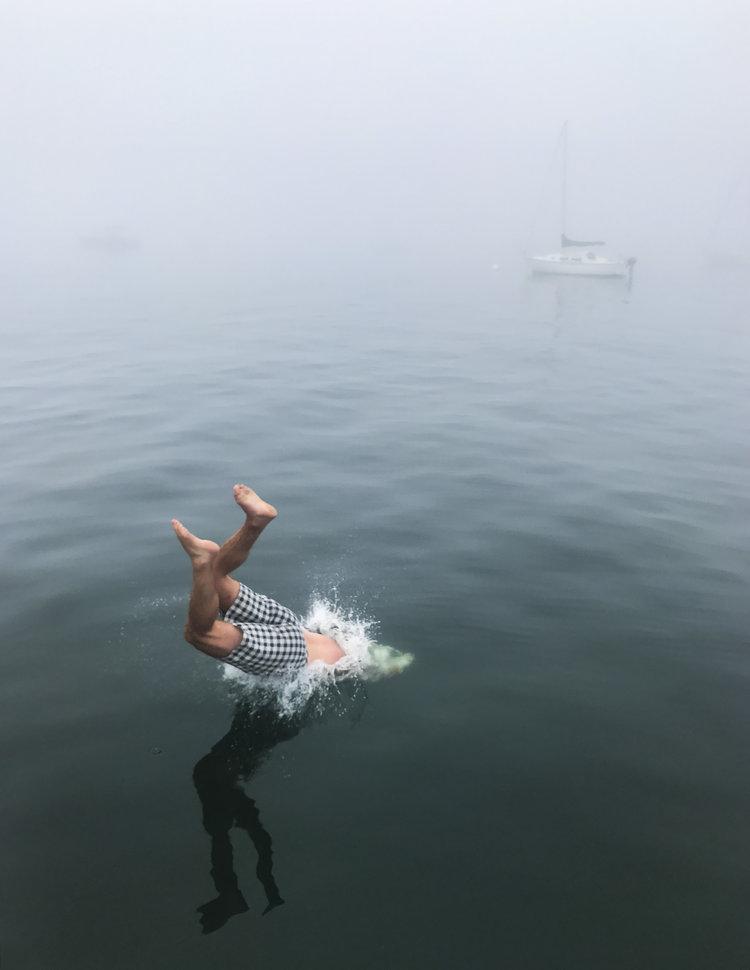 Katie Hughes,  Camden Harbor, Maine,  2017
