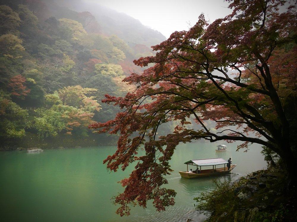 Sam Teicher,  Katsura River near Arashiyama Bamboo Forest, Kyoto,  2017