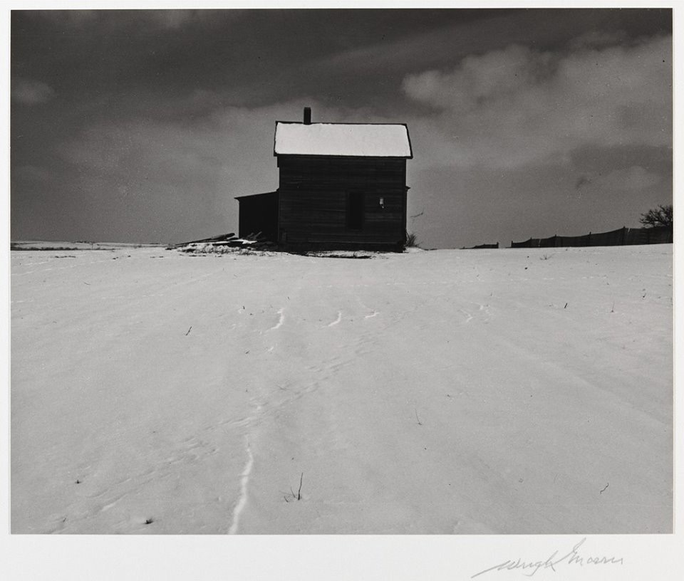 Wright Morris, House in Winter, Lincoln Nebraska, 1947