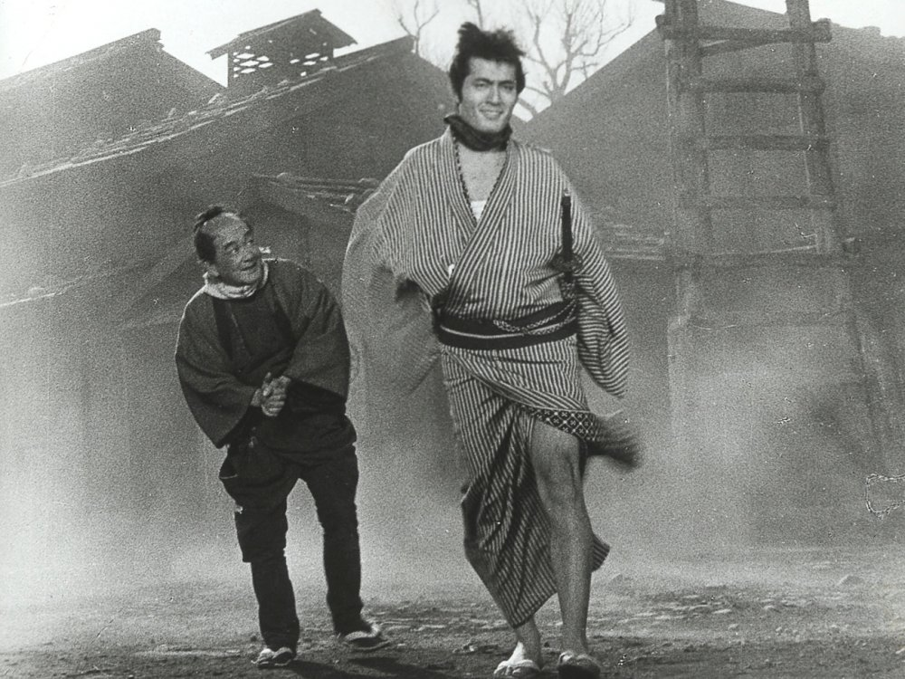 "Frame from ""Yojimbo"" (1961)"