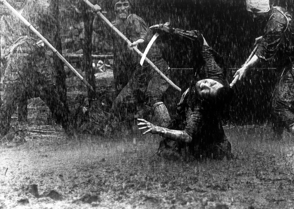 "Frame from ""The Seven Samurai"" (1954)"