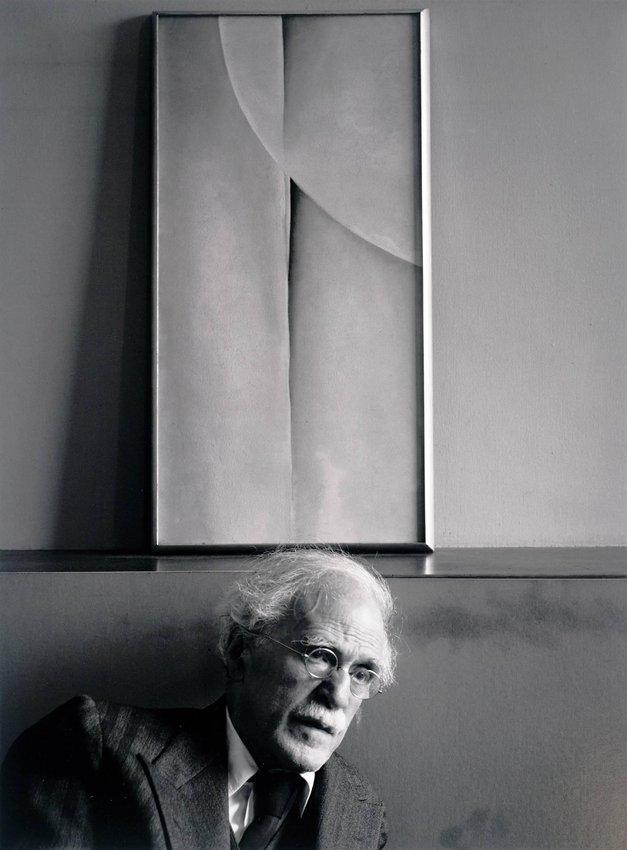 Alfred Stieglitz, by Ansel Adams (1939)