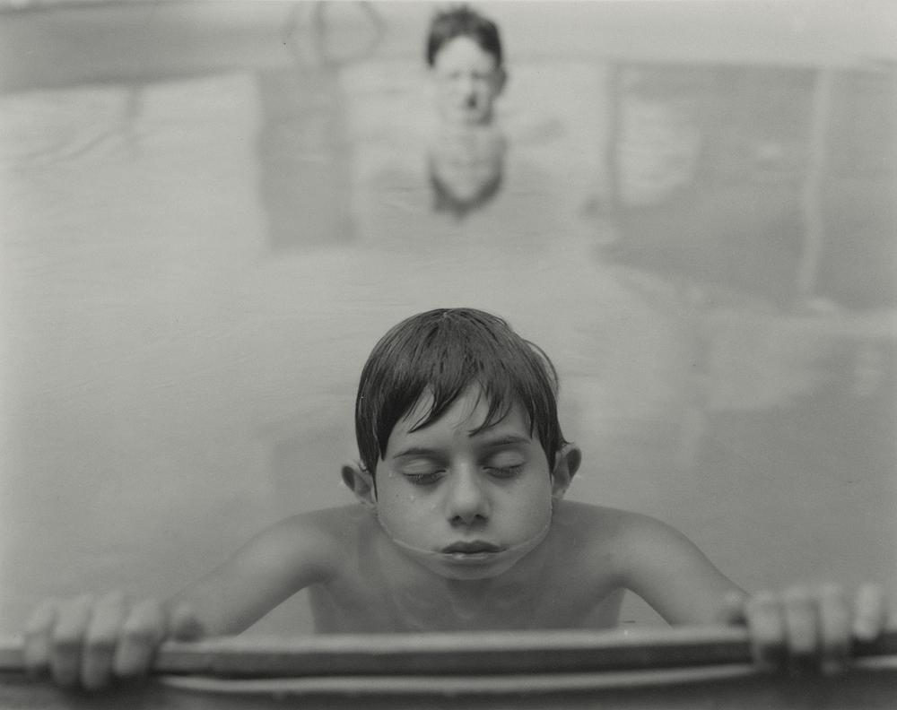Daniel in Pool, by Andrea Modica (1994)