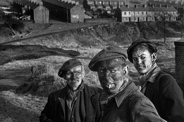 3 Generations of Welsh Miners, by W. Eugene Smith (1950)