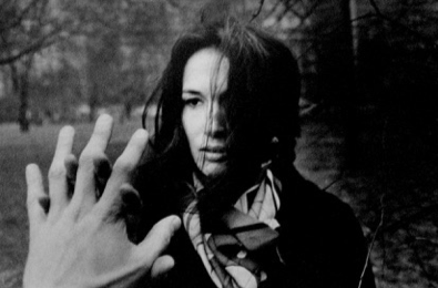 Ralph Gibson's hand in his photo of Mary Ellen Mark… this is a moment between them, and we are there.