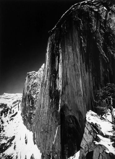 Monolith, Half Dome, by Ansel Adams